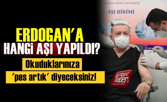 Erdoğan'a Hangi Aşı Yapıldı? Okuduklarınıza Pes Diyeceksiniz