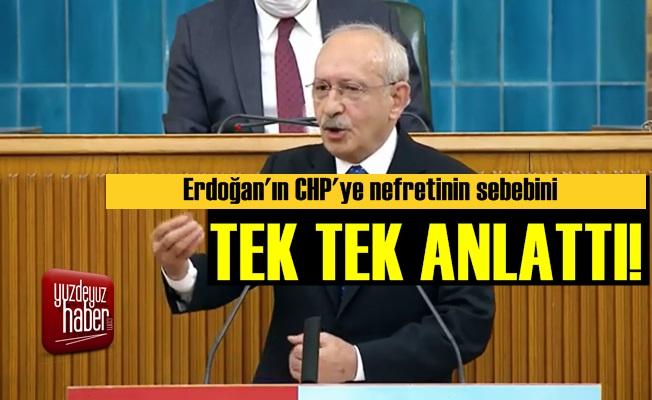 Erdoğan'ın CHP Nefretinin Sebeplerini Anlattı!