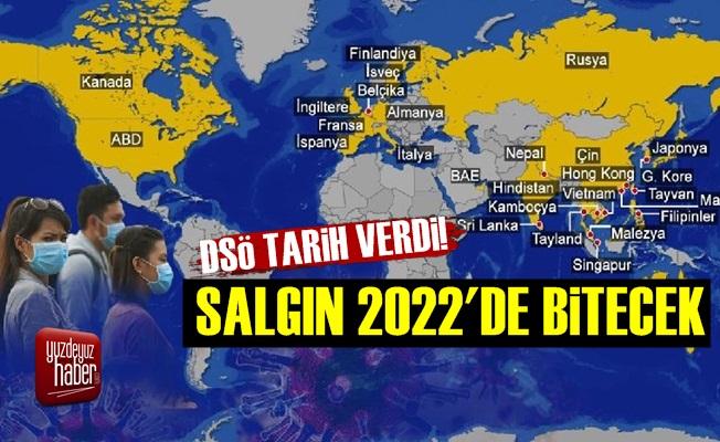 DSÖ: Koronavirüs Salgını 2022'de Bitecek
