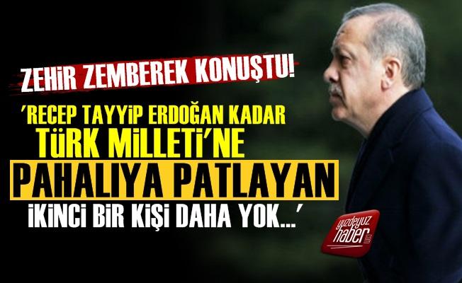 'Recep Tayyip Erdoğan Türk Milleti'ne Pahalıya Patladı'