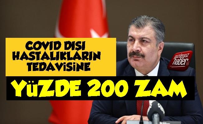 Covid Dışı Hastalıklara Yüzde 200 Zam!