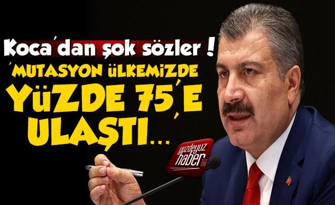 'Mutasyon Türkiye'de Yüzde 75'e Ulaştı'