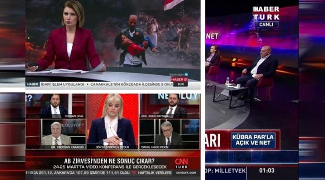 TRT, Habertürk ve CNN Türk Bakın Ne Yaptı?