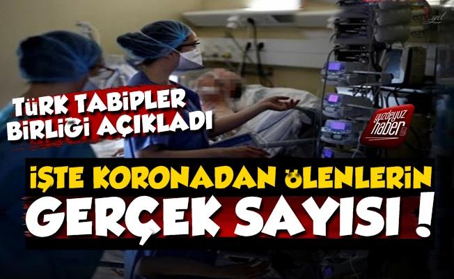Türk Tabipler Birliği Korona Ölümleri İçin Rakam Açıkladı!