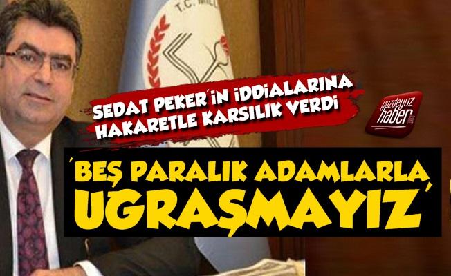 AKP'li Vekilden Sedat Peker'e: Beş Paralık Adam
