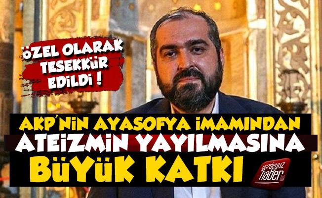 Ateistlerden Mehmet Boynukalın'a Destek Teşekkürü
