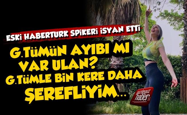 Hande Sarıoğlu Öyle Bir İsyan Etti ki...