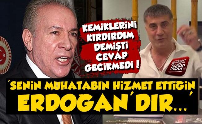 İşbaşaran'dan Peker'e: Muhatabın Hizmet Ettiğin Erdoğan