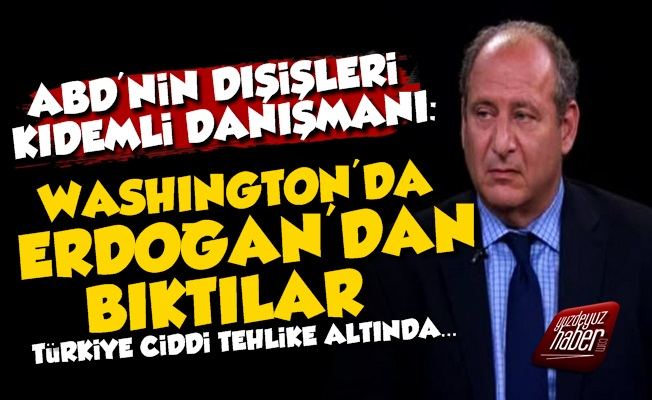 'Washginton'dan Erdoğan'dan Bıktılar Çünkü...'