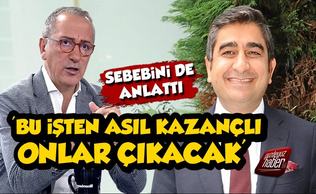 Fatih Altaylı, SBK Olayında Kazançlı Çıkacakları Açıkladı