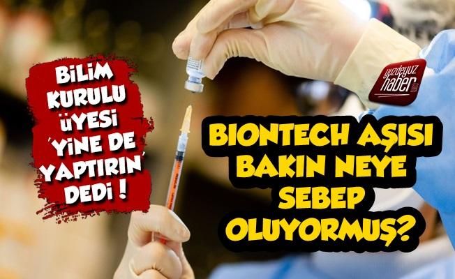 Şok! Biontech Aşısı Bakın Neye Sebep Oluyormuş?