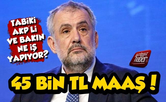 Yine Bir AKP'li Yine İnanılmaz Maaş