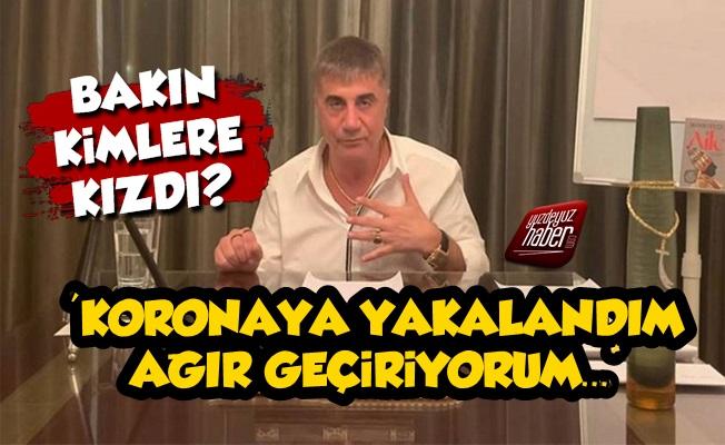 Sedat Peker Koronaya Yakalandığını Açıkladı