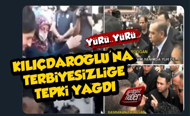 Kılıçdaroğlu'na Yapılan Terbiyesizliğe Tepki Yağdı