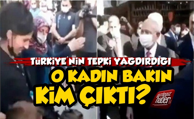 Kılıçdaroğlu'na 'Yürü' Diyen Kadın Bakın Kim Çıktı?