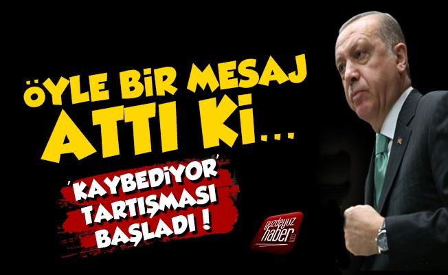 AKP, Eski Vekilin Attığı Mesajı Konuşuyor