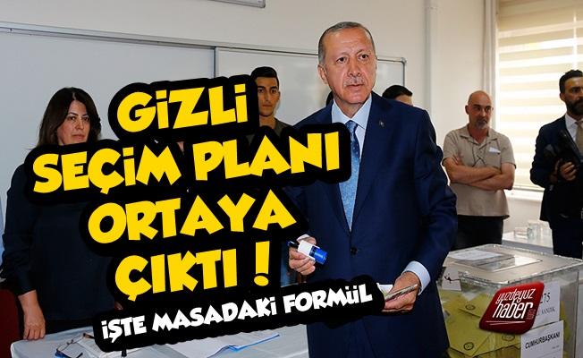 İşte AKP'nin Gizli Seçim Planı!