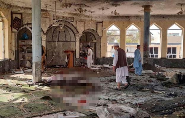 Afganistan'da Camiye Bomba! 100 Ölü...