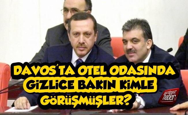 Erdoğan Davos'ta Otelde Gizlice Kimle Görüşmüş, Açıkladı!