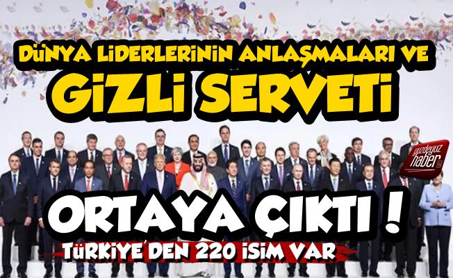 Pandora Belgeleri Şok Etti, Türkiye'den 220 İsim Var...
