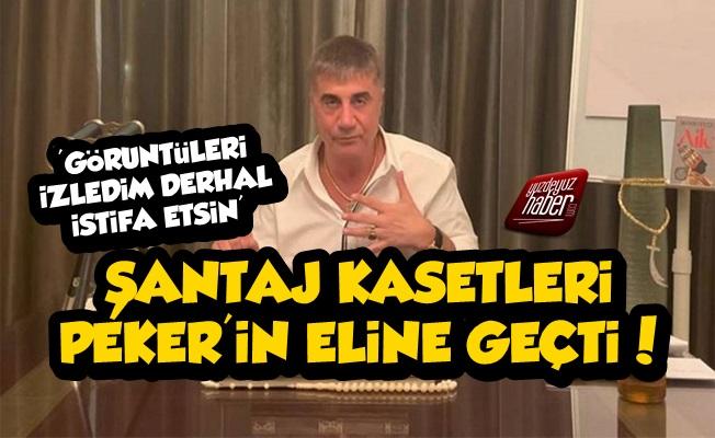 Şantaj Kasetleri Sedat Peker'in Eline Geçti