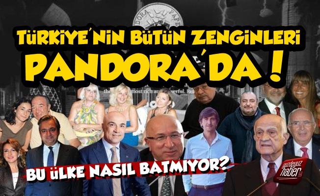 Türkiye'nin Bütün Zenginleri Pandora Belgeleri'nde!