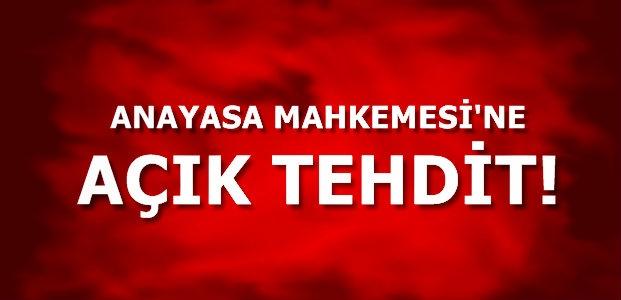 AÇIK AÇIK TEHDİT ETTİ!
