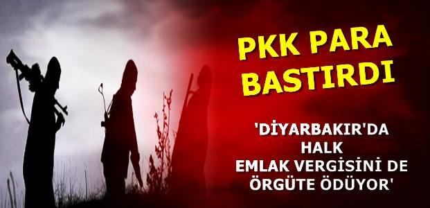 ARTIK PKK'NIN KENDİ PARASI VAR...