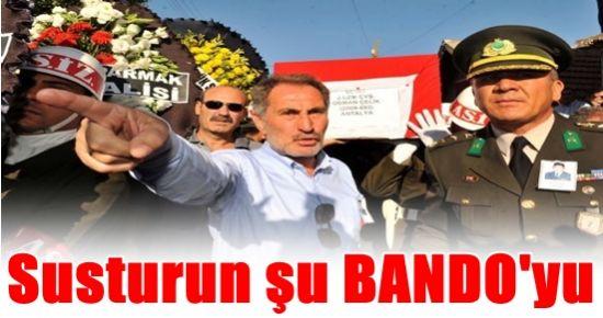 BAKAN GÜNAY'DAN BANDO FIRÇASI...