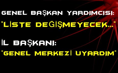 CHP İZMİR'DE LİSTE KARMAŞASI SÜRÜYOR