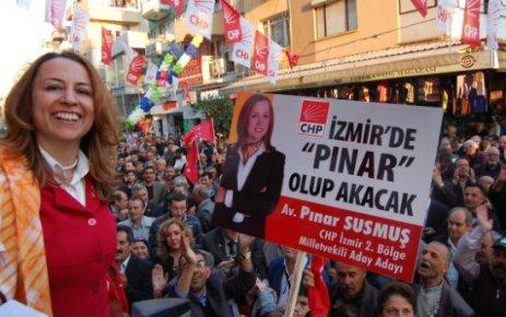 CHP'NİN PINAR'I COŞTU...