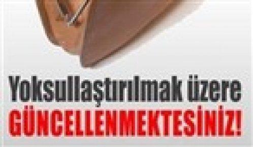 CHP'NİN SİTESİNDE 'GÜNCELLEME'