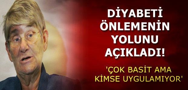 DİYABETİ ÖNLEMENİN YOLUNU AÇIKLADI!