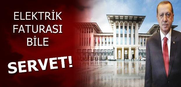AK SARAY'IN ELEKTRİK FATURASI BİLE SERVET!