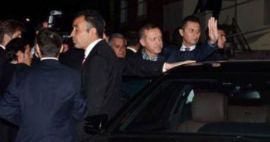 GARDİYANINI ZİYARET ETTİ...