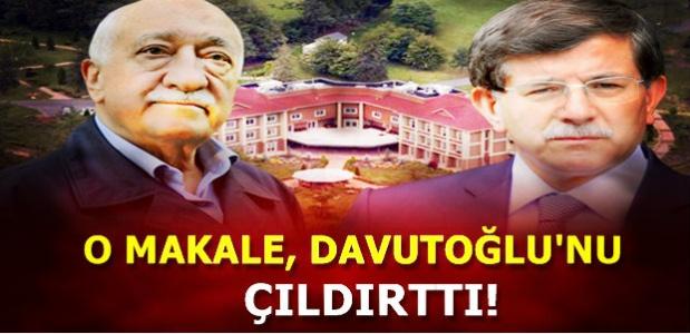 GÜLEN'İN MAKALESİ BAŞBAKAN'I ÇILDIRTTI!