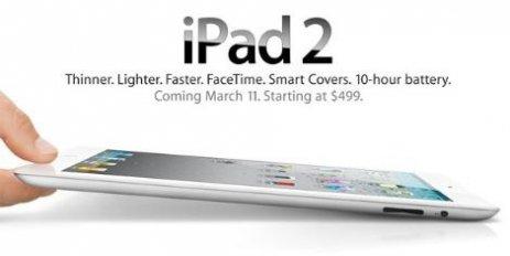 İŞTE YENİ iPad 2