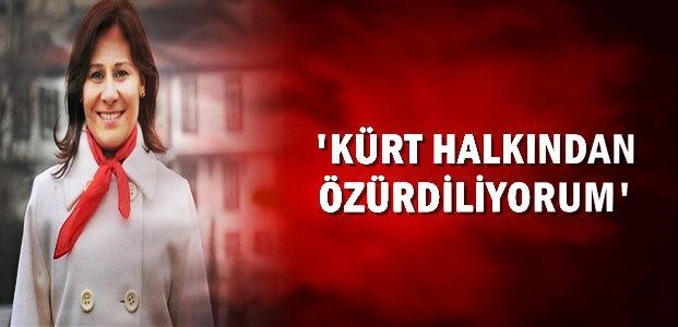 'KÜRT HALKINDAN ÖZÜRDİLİYORUM'