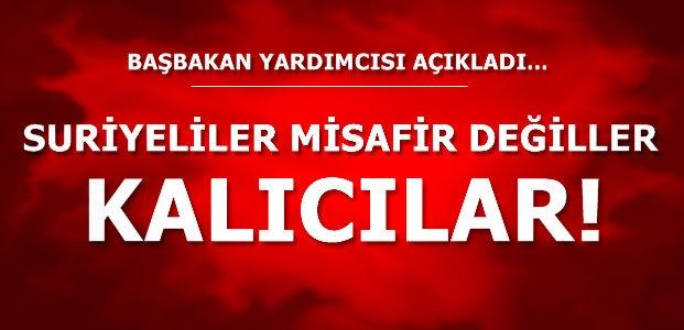 'ONLAR MİSAFİR DEĞİL KALICILAR'
