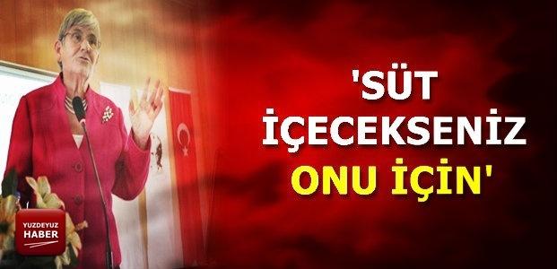 SÜT İÇECEKSENİZ...