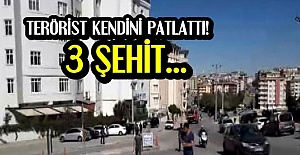 GAZİANTEP'TE PATLAMA: 3 ŞEHİT...