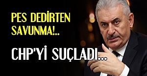 KENDİLERİ YAPIYOR CHP'Yİ SUÇLUYORLAR!