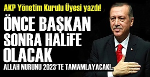 AKP'LİYE GÖRE 2023 HEDEFİ BUYMUŞ!..