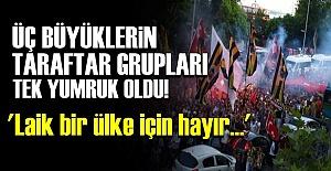 TARAFTARLAR 'HAYIR' DEDİ!..