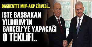 AKP-MHP' ZİRVESİNDEN 'TEKLİF' ÇIKTI!..