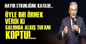 SALONU ALKIŞLARLA İNLETTİ!..