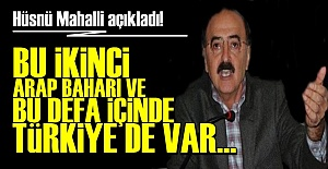 HÜSNÜ MAHALLİ'DEN OLAY AÇIKLAMA!