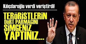 KILIÇDAROĞLU'NDAN 'RABİA' TEPKİSİ...