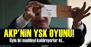 AKP ÖYLE İKİ MADDEYİ DEĞİŞTİRİYOR Kİ...