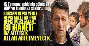 AKP'YE ZEHİR ZEMBEREK SÖZLER!..
